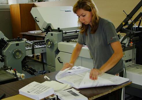 Technik dokončovacieho spracovania (knihár)