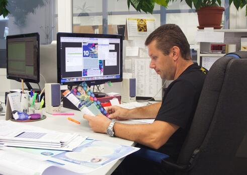 Špecialista technológ v polygrafickej výrobe