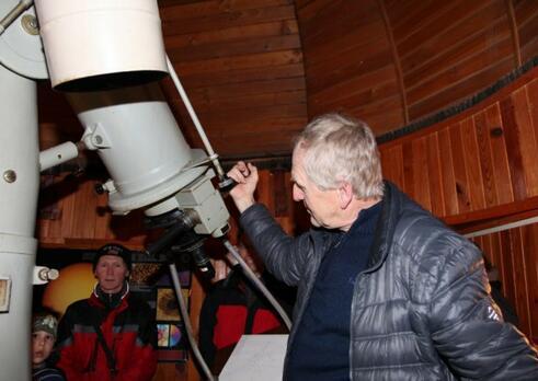 Vedecký pracovník v astronómii